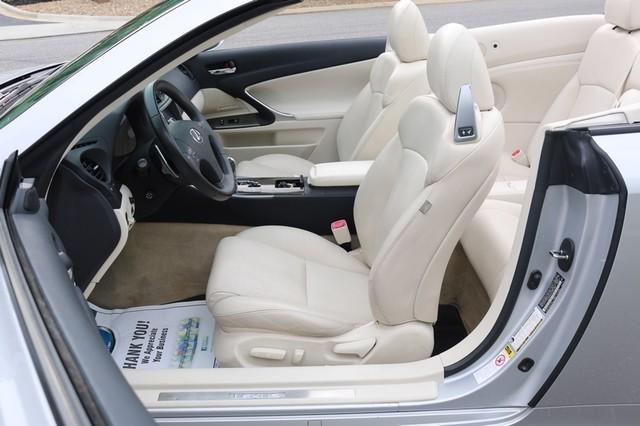 2010 Lexus IS 350C Mooresville, North Carolina 14
