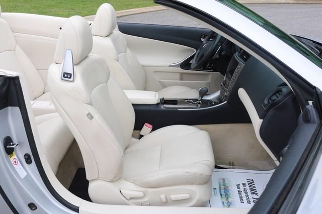 2010 Lexus IS 350C Mooresville, North Carolina 19