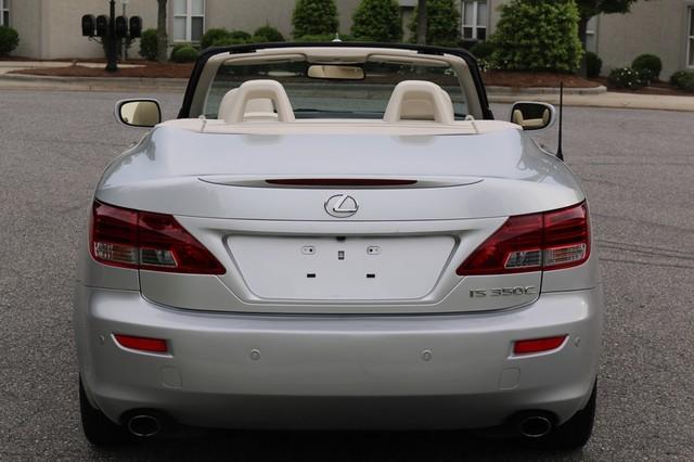 2010 Lexus IS 350C Mooresville, North Carolina 4