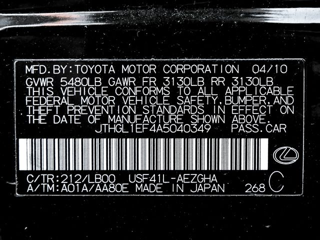 2010 Lexus LS 460 L Burbank, CA 33