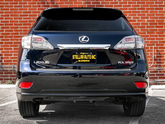 2010 Lexus RX 350 Burbank, CA 3