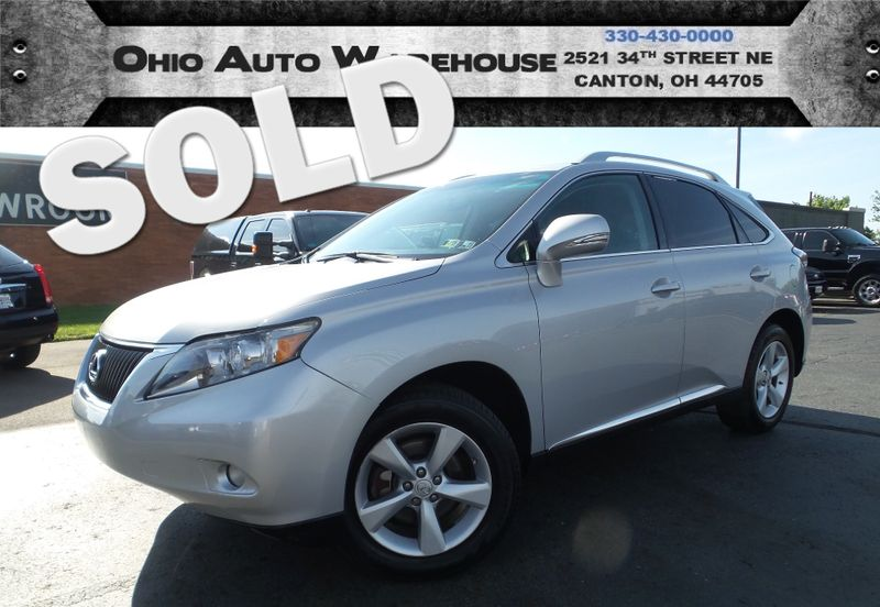 2010 Lexus RX 350 AWD Sunroof V6 Clean Carfax We Finance | Canton, Ohio | Ohio Auto Warehouse LLC in Canton Ohio