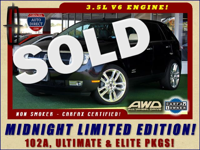 2010 Lincoln MKX AWD MIDNIGHT LIMITED EDITION W/ ULTIMATE PKG! Mooresville , NC 0