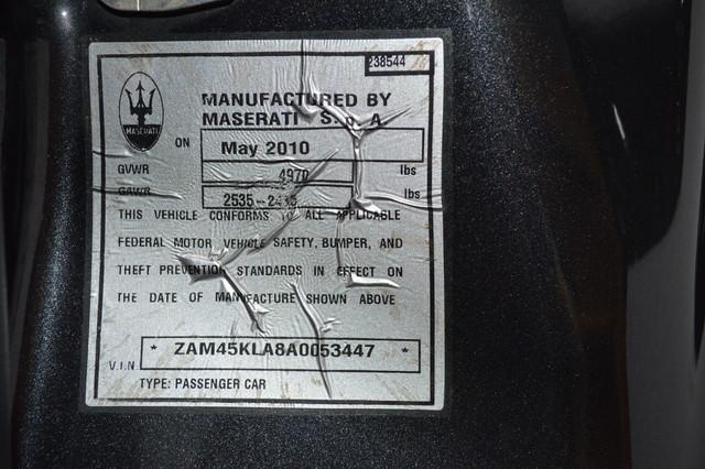 2010 Maserati GranTurismo S Auto Tampa, Florida 52