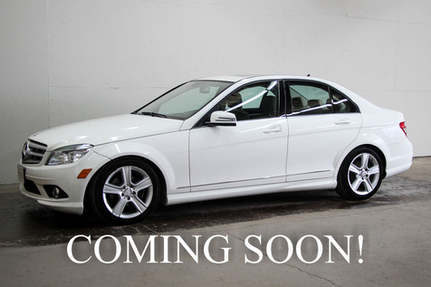 2010 Mercedes-Benz C300 Sport 4Matic AWD Luxury Car w/Navigation, Heated Seats, Premium Pkg & Great Sound System in Eau Claire