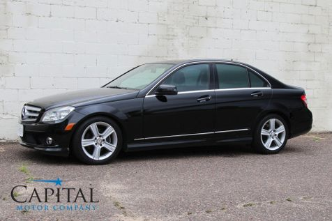 2010 Mercedes-Benz C300 Sport 4MATIC AWD Luxury Car w/ iPod Integration Kit, Bluetooth Phone & Low Miles in Eau Claire