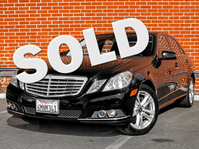 2010 Mercedes-Benz E 350 Luxury Burbank, CA 0