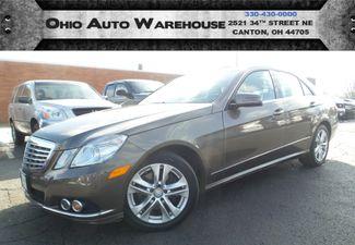 2010 Mercedes-Benz E 350 Luxury 4Matic Navi Sunroof Cln Carfax We Finance | Canton, Ohio | Ohio Auto Warehouse LLC in  Ohio