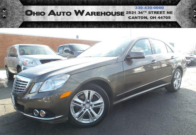 2010 Mercedes-Benz E 350 Luxury 4Matic Navi Sunroof Cln Carfax We Finance | Canton, Ohio | Ohio Auto Warehouse LLC in Canton Ohio