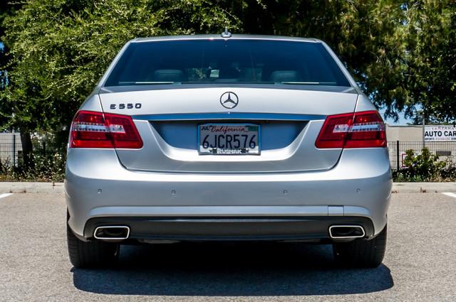 2010 Mercedes-Benz E 550 Luxury - P2 PKG - NAVI - HTD/CLD STS - XENON Reseda, CA 8
