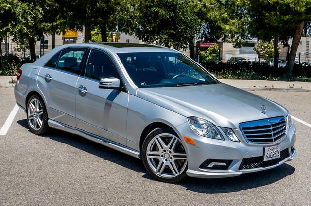 2010 Mercedes-Benz E 550 Luxury - P2 PKG - NAVI - HTD/CLD STS - XENON Reseda, CA 46