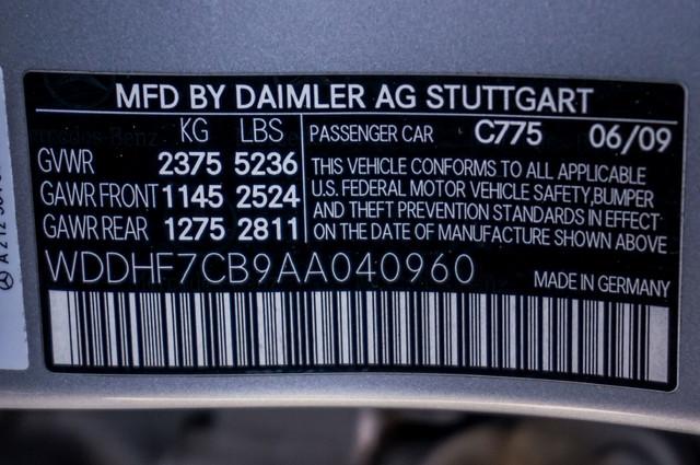 2010 Mercedes-Benz E 550 Luxury - P2 PKG - NAVI - HTD/CLD STS - XENON Reseda, CA 41