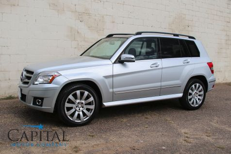 2010 Mercedes-Benz GLK350 4Matic AWD Crossover w/Navigation, Panoramic Moonroof, Heated Seats & 19