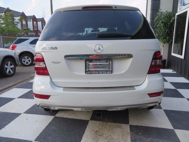 2010 Mercedes-Benz ML 350 Charlotte-Matthews, North Carolina 25