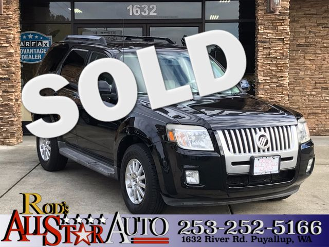 2010 Mercury Mariner Premier The CARFAX Buy Back Guarantee that comes with this vehicle means that