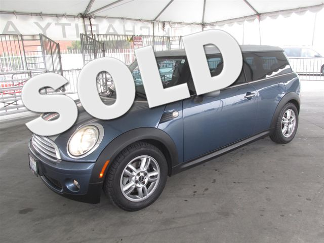 2010 MINI Clubman Please call or e-mail to check availability All of our vehicles are available