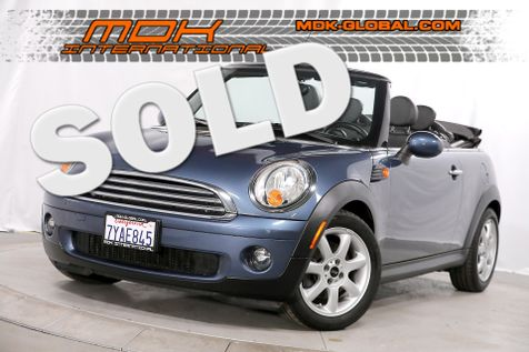 2010 Mini Convertible - Bluetooth - Leather in Los Angeles