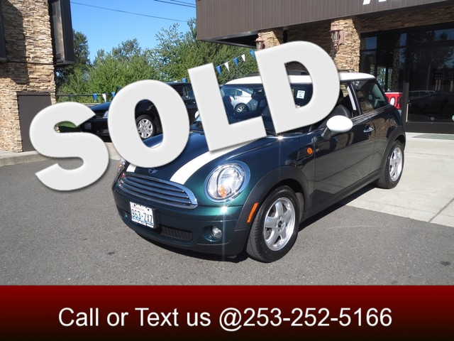 2010 MINI Hardtop The CARFAX Buy Back Guarantee that comes with this vehicle means that you can bu