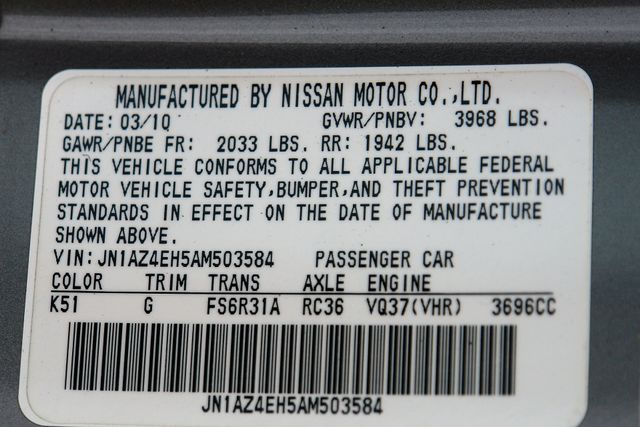 2010 Nissan 370Z NISMO Phoenix, AZ 35