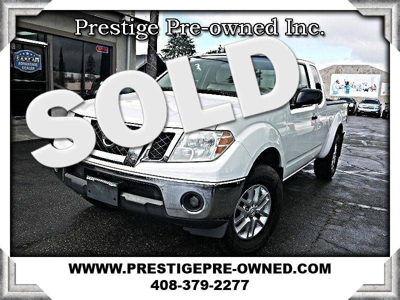 2010 Nissan Frontier SE ((**4X4/1 OWNER/CLEAN CARFAX*)  in Campbell CA