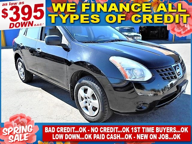 2010 Nissan Rogue S Limited warranty included to assure your worry-free purchase AutoCheck report