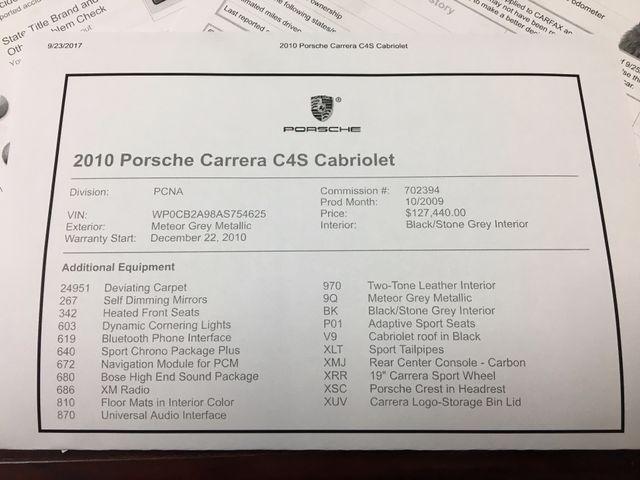 2010 Porsche 911 Carrera 4S Longwood, FL 53