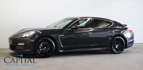 2010 Porsche Panamera 4S AWD Luxury Sedan w/400HP V8, Heated Seats, Navigation & 20