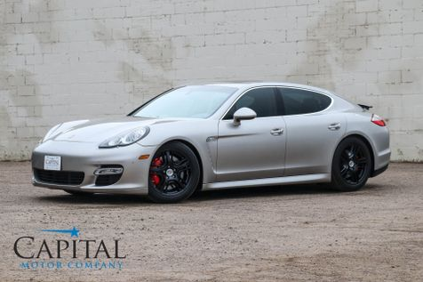 2010 Porsche Panamera Turbo AWD w/500HP V8 Sport Exhaust Heated Front/Rear Seats & 19