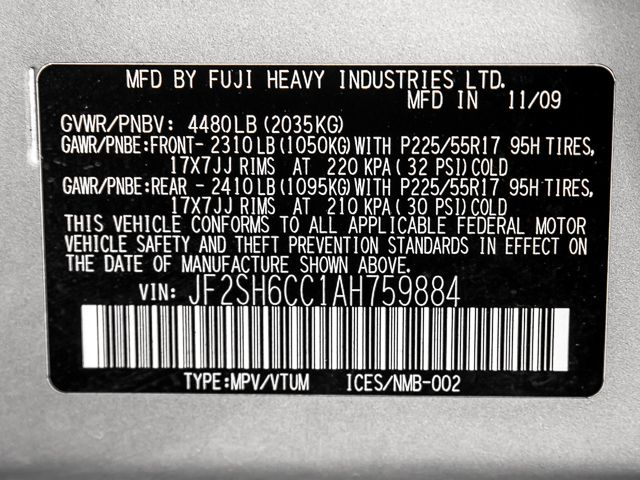 2010 Subaru Forester 2.5X Premium Burbank, CA 28