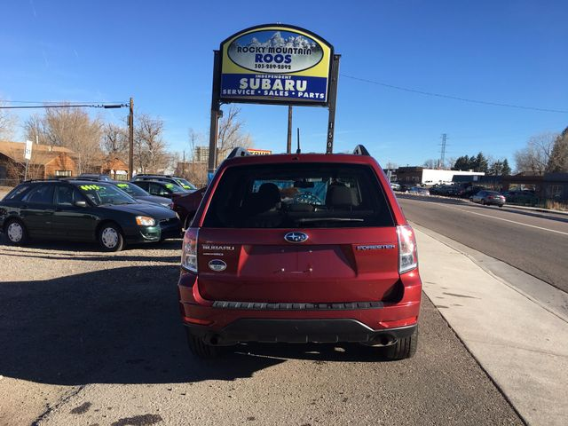 2010 Subaru Forester 2.5X Premium = END OF YEAR CLEARANCE SPECIAL!! Golden, Colorado 3