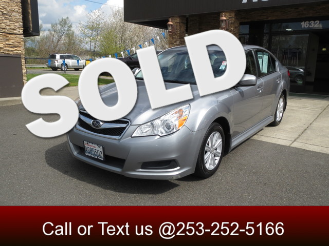 2010 Subaru Legacy PZE AWD The CARFAX Buy Back Guarantee that comes with this vehicle means that y
