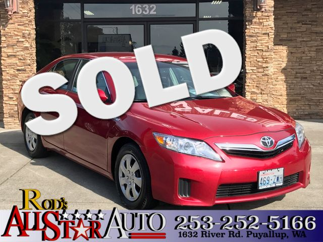 2010 Toyota Camry Hybrid The CARFAX Buy Back Guarantee that comes with this vehicle means that you