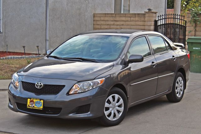 2010 Toyota COROLLA LE 1-OWNER 43K MLS SERVICE RECORDS NEW TIRES CRUISE CONTROL POWER WINDOWS Woodland Hills, CA 2