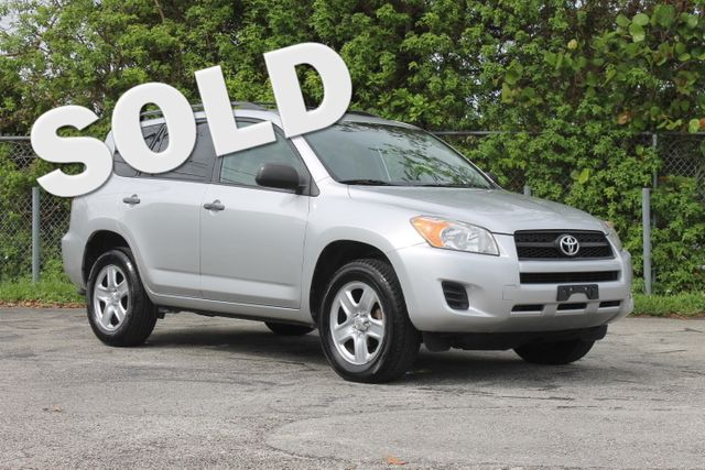 2010 Toyota RAV4  WARRANTY CARFAX CERTIFIED 17 SERVICE RECORDS FLORIDA VEHICLE TRADES WELCO