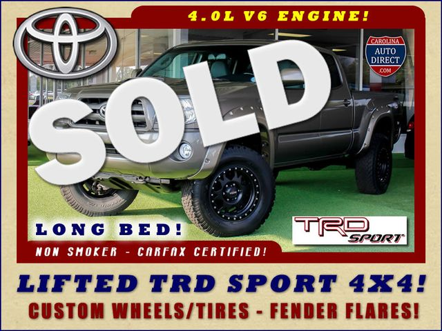 2010 Toyota Tacoma Double Cab Long Bed 4x4 TRD SPORT - LIFTED! Mooresville , NC 0