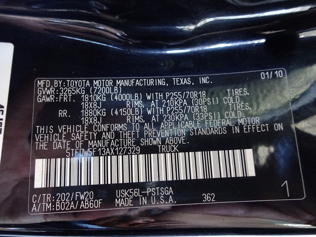 2010 Toyota Tundra Corpus Christi, Texas 47