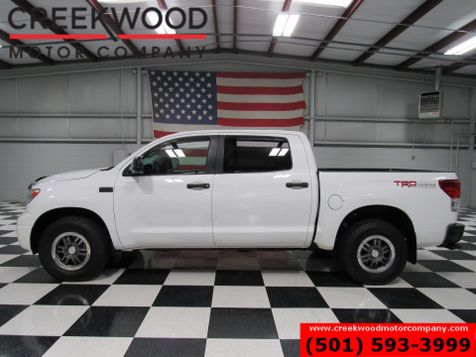 2010 Toyota Tundra Rock Warrior SR5 TRD 4x4 Crew Max White Leather in Searcy, AR