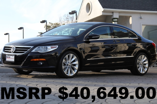 2010 VOLKSWAGEN CC VR6 Sport 4dr Sedan AMFM CD Player CD Changer Anti-Theft Sunroof AC Cruis