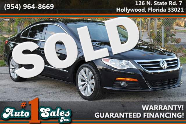 2010 Volkswagen CC Sport  WARRANTY CARFAX CERTIFIED AUTOCHECK CERTIFIED 2 OWNERS 7 SERVICE