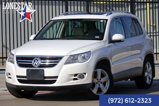 2010 Volkswagen Tiguan SEL Clean Carfax Leather in Plano Texas, 75093