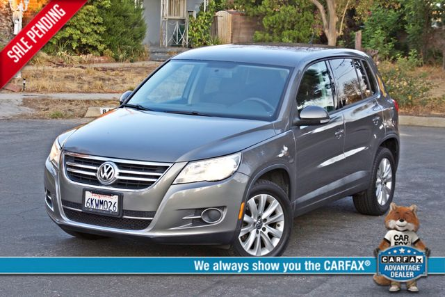 2010 Volkswagen TIGUAN S AUTOMATIC ONLY 92K MLS ALLOY WHEELS SERVICE RECORDS Woodland Hills, CA 0