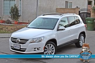 2010 Volkswagen TIGUAN WOLFSBURG LEATHER PANORAMIC ROOF SERVICE RECORDS Woodland Hills, CA