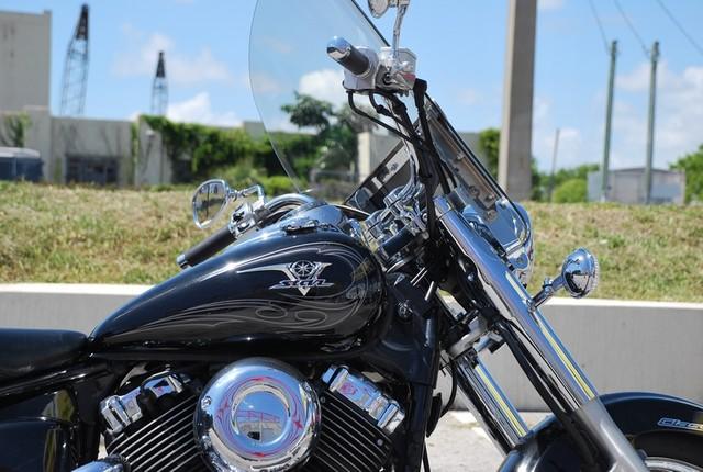 2010 Yamaha V-Star XVS650 Classic Dania Beach, Florida 8
