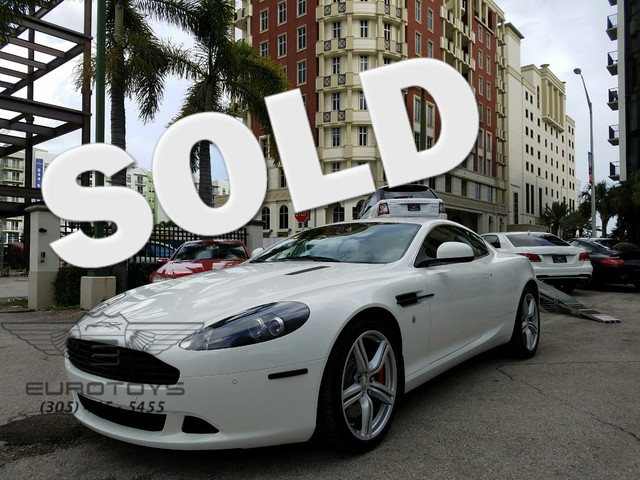 2011 Aston Martin DB9 CALL SALES DEPARTMENT 877-212-8667 MORE DETAILS AT EUROTOYSUS WILL WORK HA