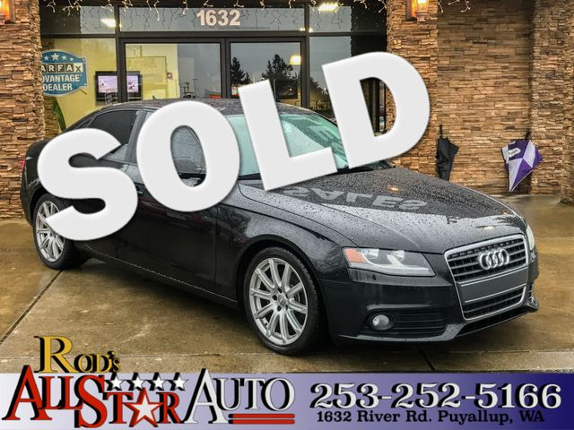 2011 Audi A4 20T Premium The CARFAX Buy Back Guarantee that comes with this vehicle means that yo