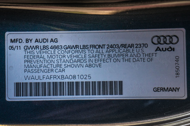 2011 Audi A5 2.0T Premium Plus AWD - NAVI - XENON - HTD STS Reseda, CA 38