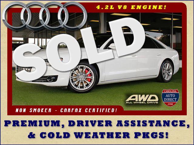 2011 Audi A8 L QUATTRO AWD - DRIVER ASSISTANCE PKG! Mooresville , NC 0