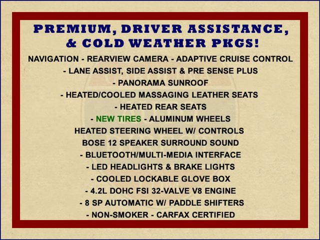 2011 Audi A8 L QUATTRO AWD - DRIVER ASSISTANCE PKG! Mooresville , NC 1