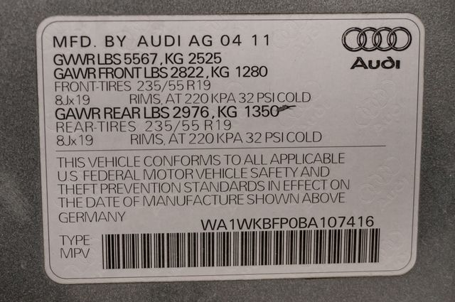 2011 Audi Q5 3.2L Prestige Reseda, CA 41