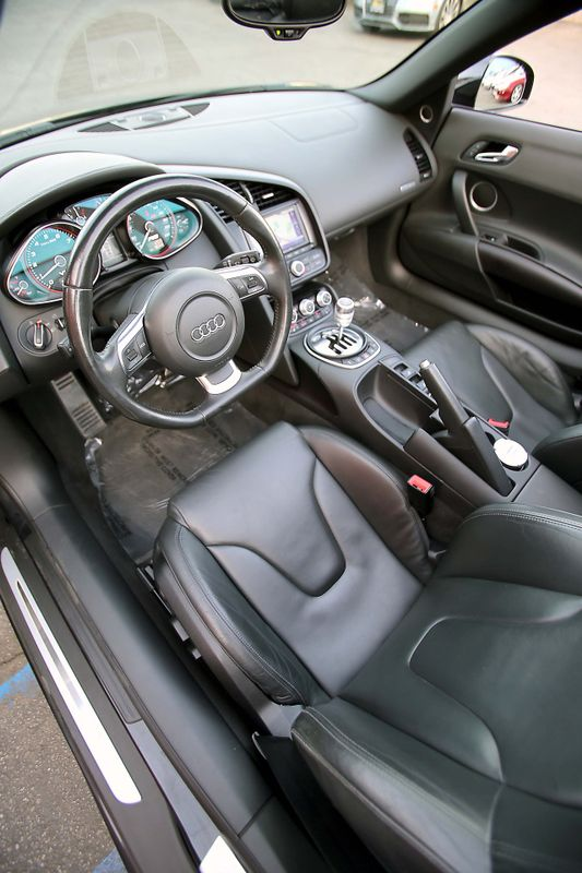 ... 2011 Audi R8 52L - V10 - 6 Speed Manual - Spyder city California MDK  International ...